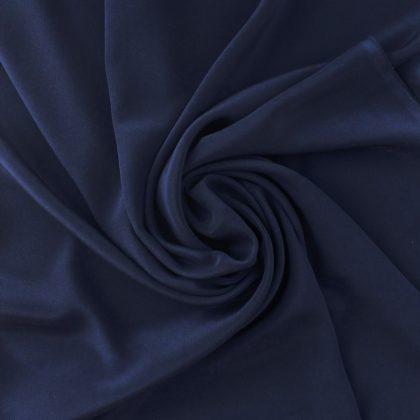 Crêpe de soie - bleu marine