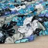 Tissu Jersey viscose Maxi Flowers - mer