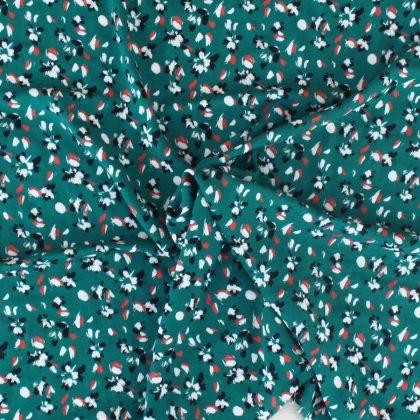 Tissu Crépon de viscose Green Lady