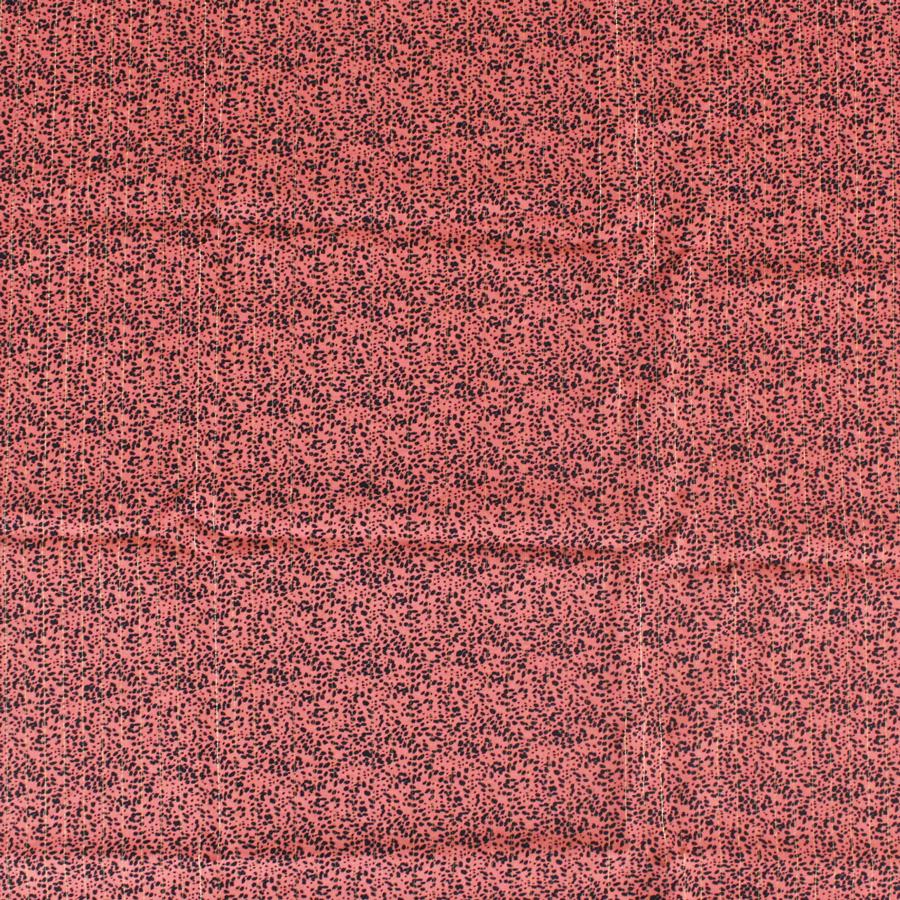 Viscose lurex - rose corail