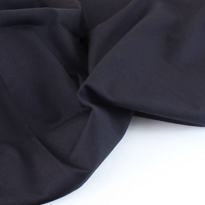 Coton look denim bleu marine