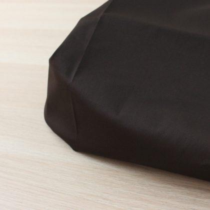 Satin de coton - brun
