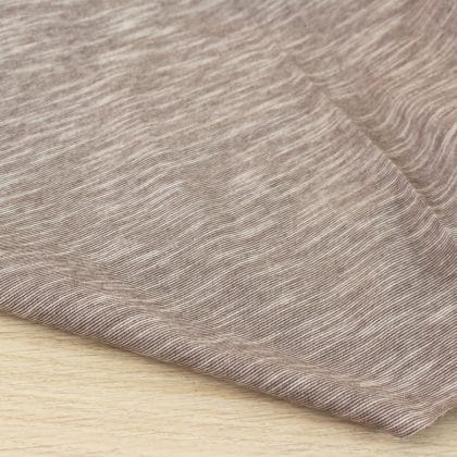 Jersey coton flammé - marron
