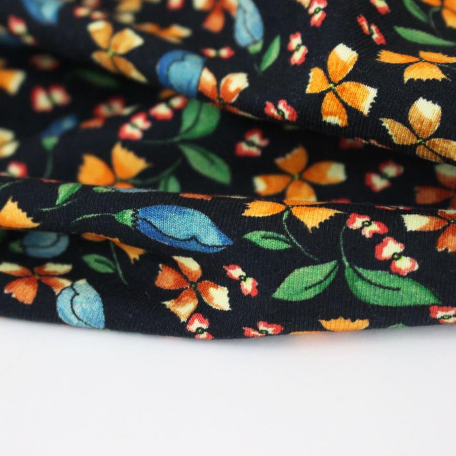 Jersey coton Flora