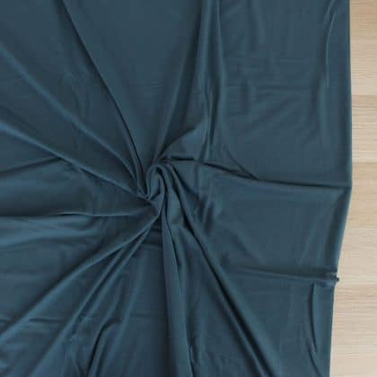 Jersey de bambou - bleu acier