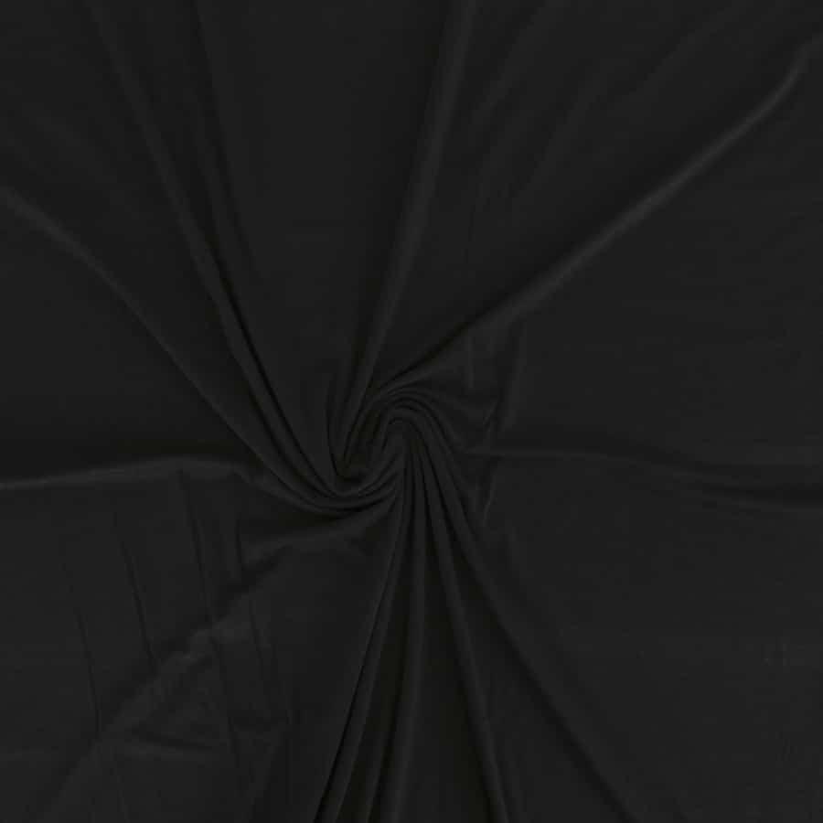 Jersey de bambou - noir