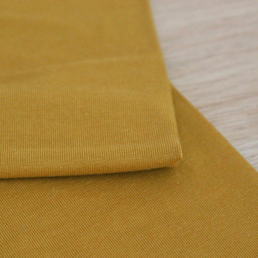 Jersey de bambou - ocre
