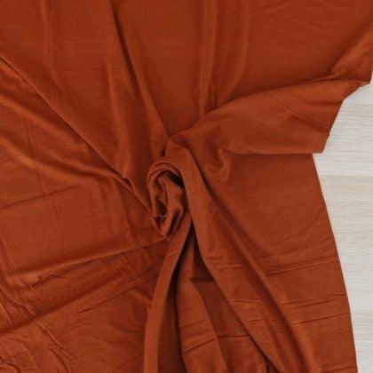 Jersey de bambou - rouille