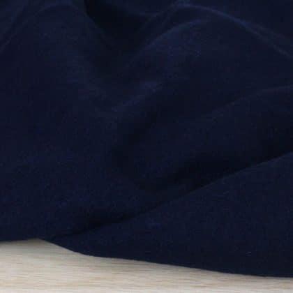 Laine bouillie - bleu marine