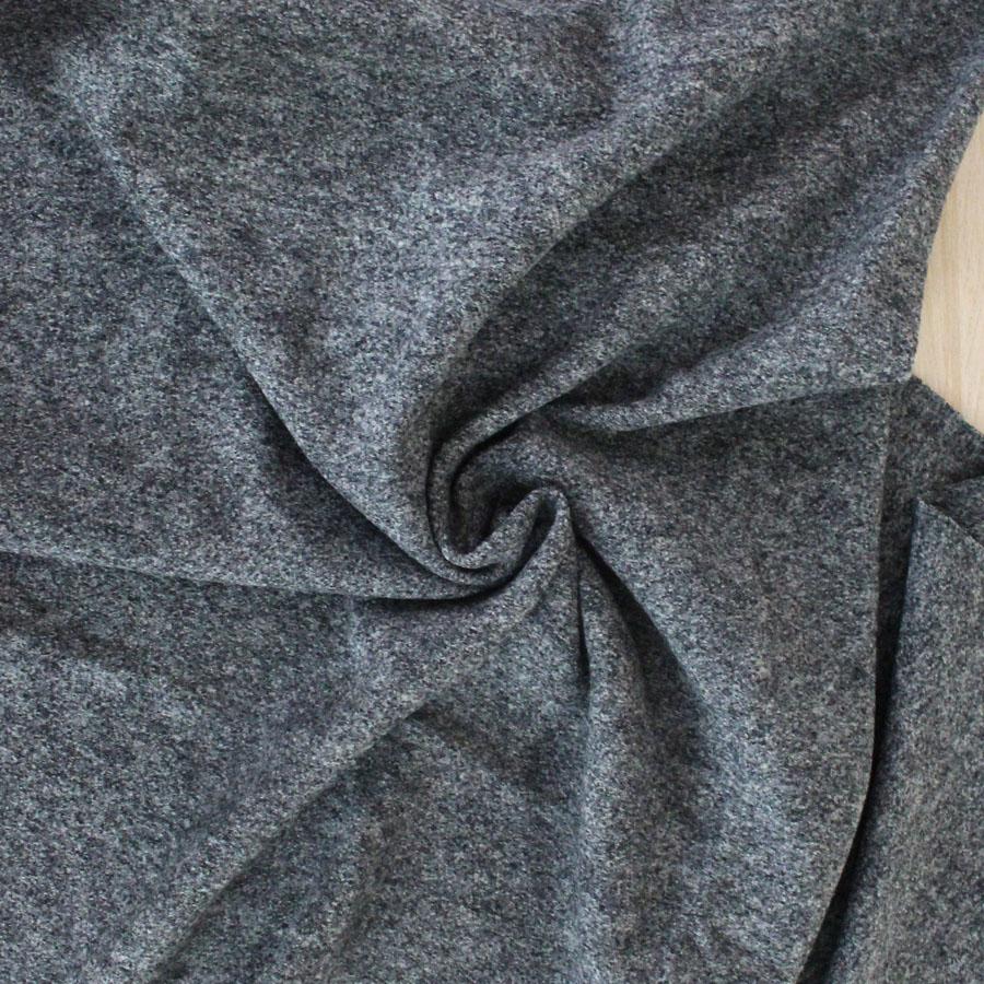Laine bouillie - gris foncé