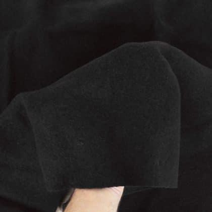 Laine bouillie - noir