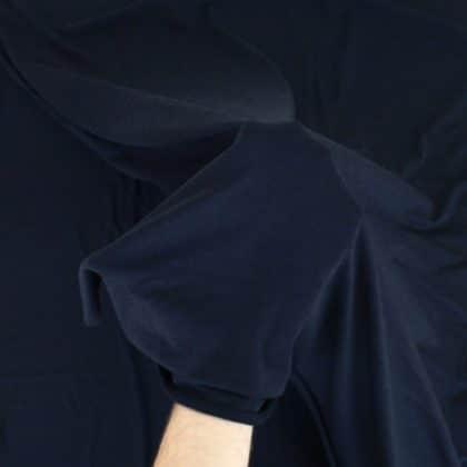 Jersey de bambou - bleu marine